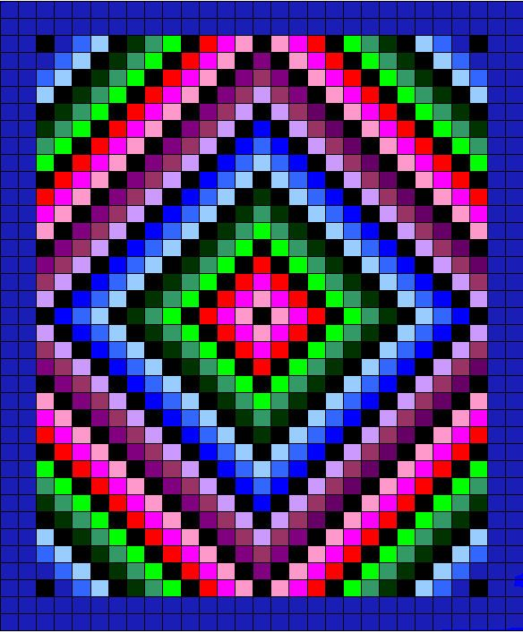 ATW Afghan pattern, totally loving this!!!