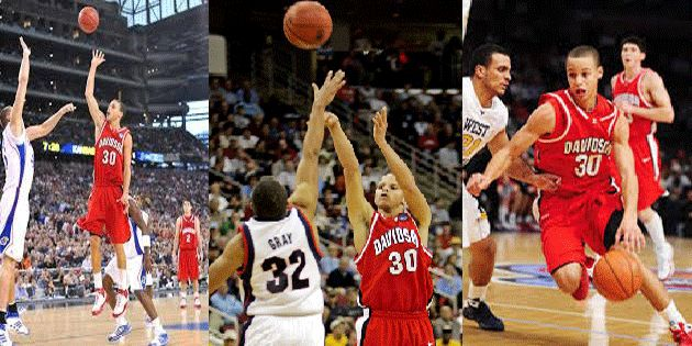 Throwback, Stephen Curry In His College Days