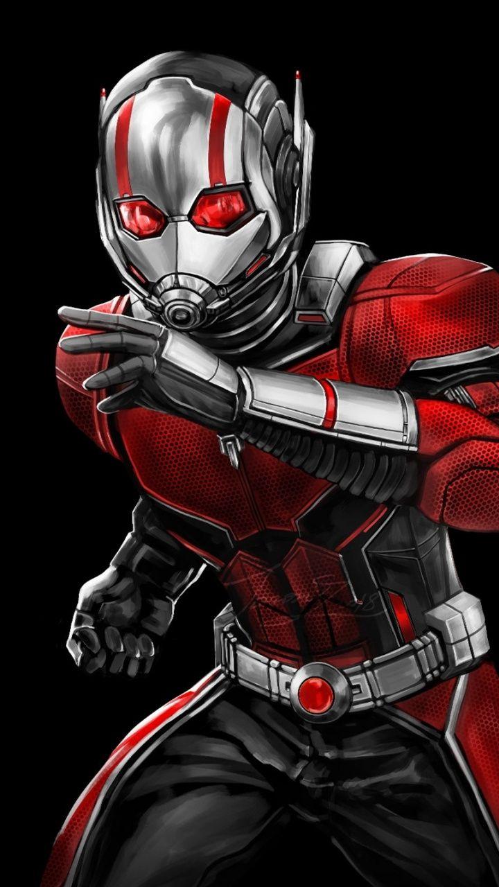 Superhero Ant Man Artwork 720x1280 Wallpaper Ant Man Marvel Superhero Superhero Wallpaper