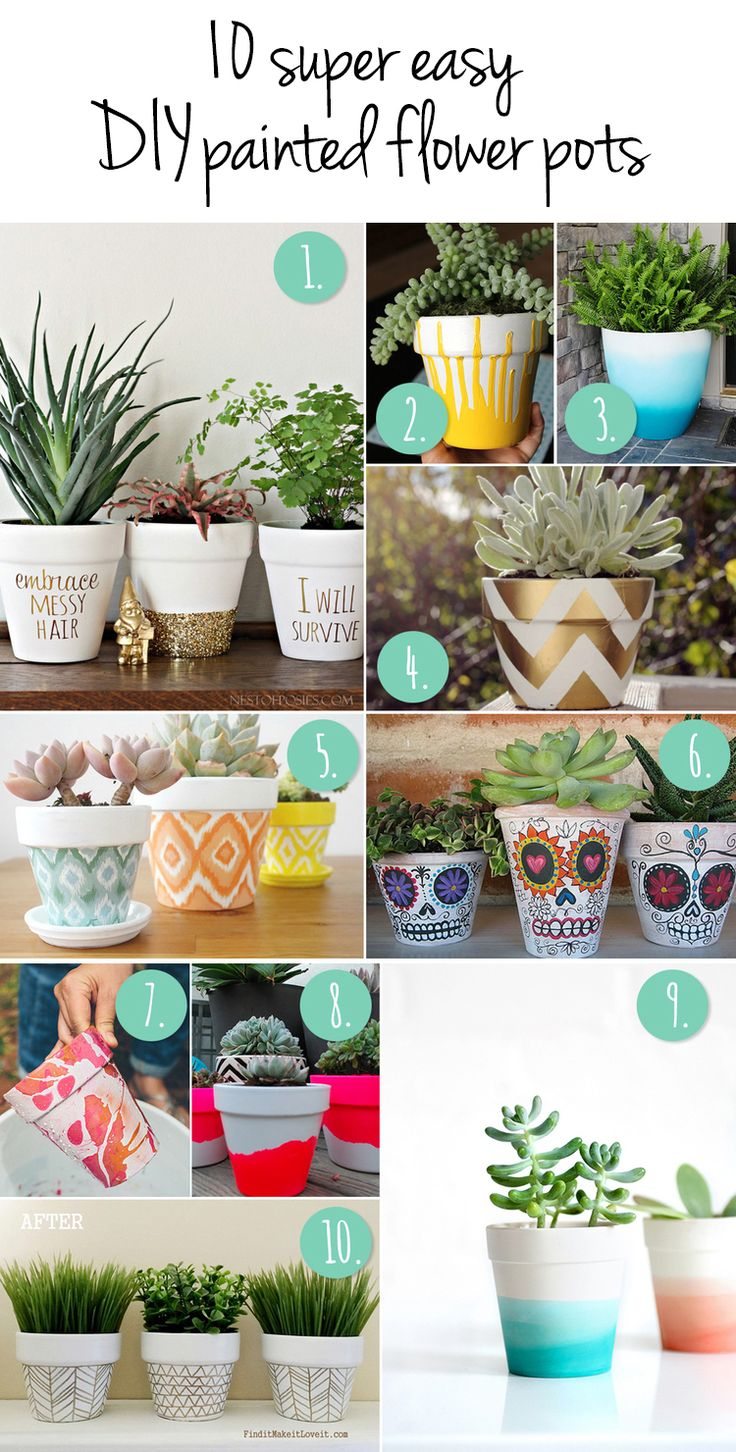 best 25+ paint flower pots ideas on pinterest | painted flower