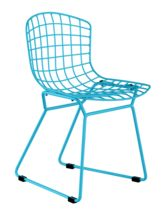 Baby Wire Chair Blue by Zuo Modern - kids chair