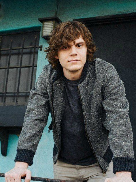 Evan Peters is my future husband. Dibs on 1st wife status.