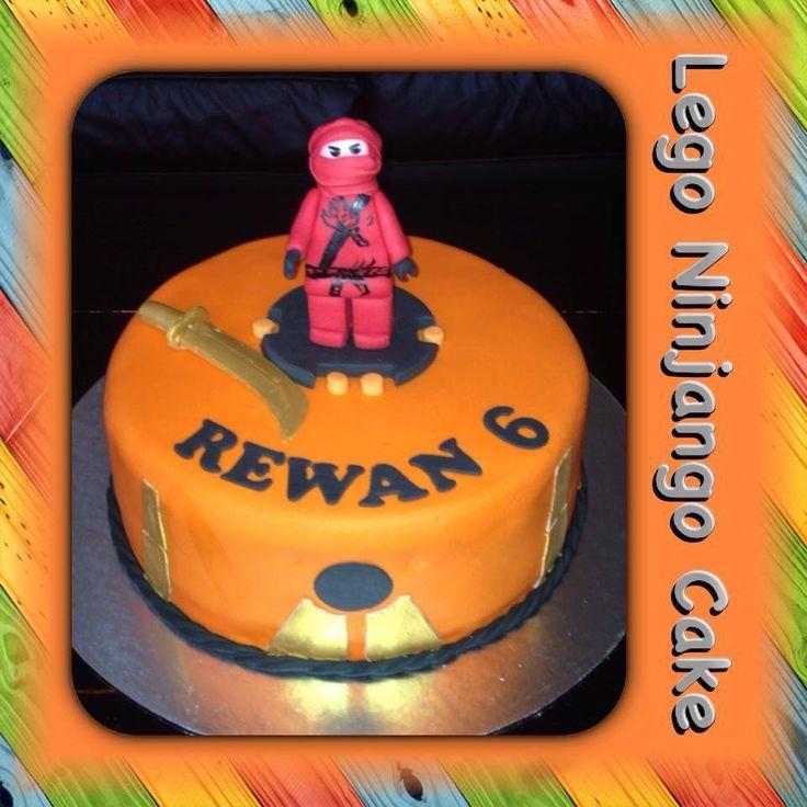 Lego Ninjango Cake #legoninjangocake