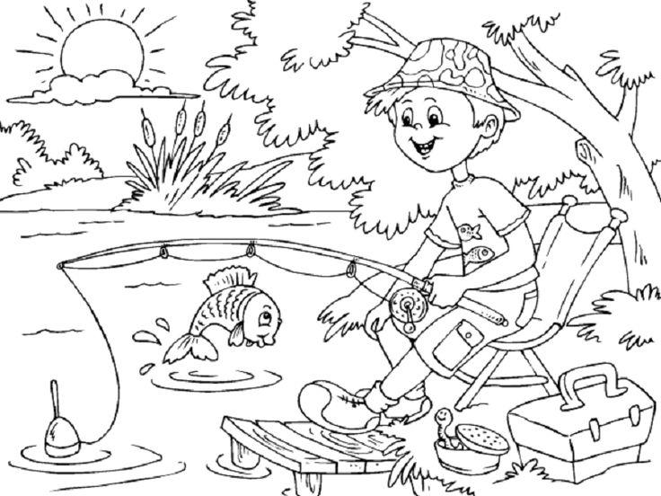 Mejores 13 imágenes de Dibujos de primavera para colorear y pintar ...