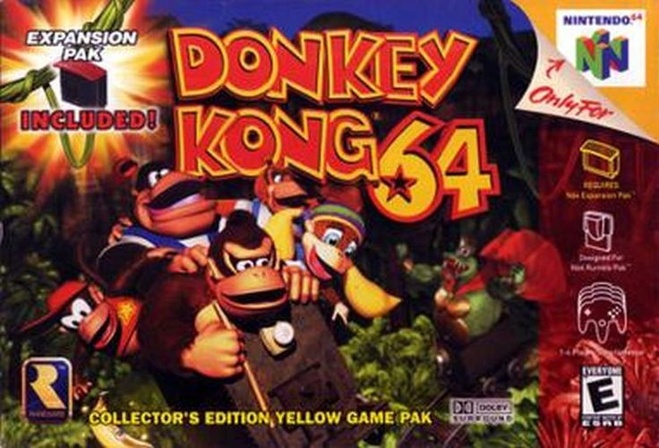 Playing #donkeykong makes me go bananas #n64 #nintendo #retrogames #retro #gamer #gamers #geek #geeky #retrogaming #videogames #gamesfoundhere #gamersunite #nintendo64