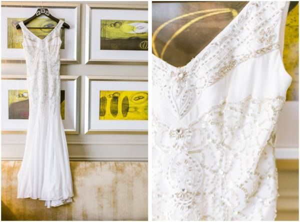 Congrats to Sarah on her wedding! She had a Speakeasy themed wedding and wore this SUE WONG wedding #dress on her special day! #suewong #wedding #gown #marriage #love