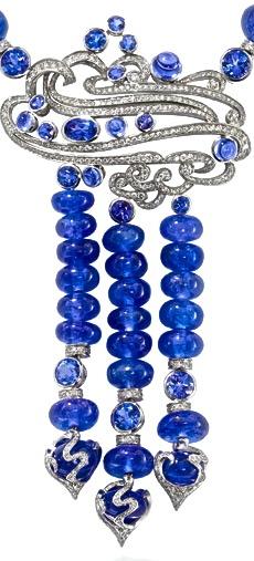 Boodles Ocean Tanzanite Necklace