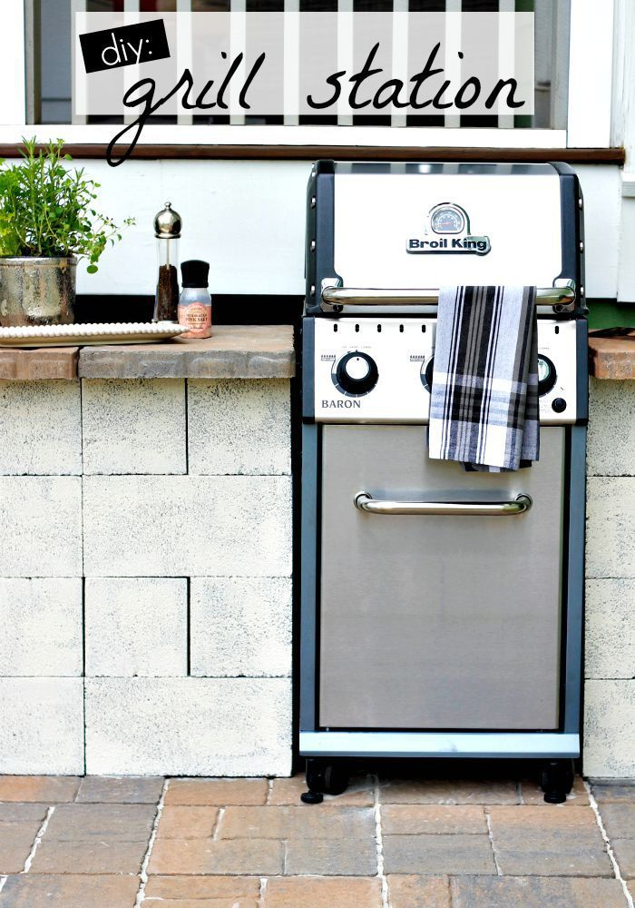 1000 ideas about grill station on pinterest patio design backyard patio designs and paver. Black Bedroom Furniture Sets. Home Design Ideas