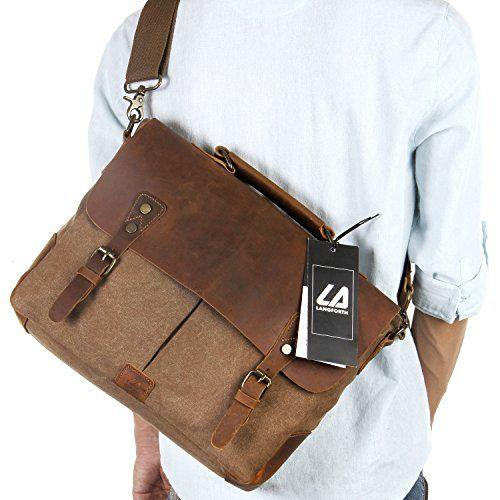 Convertible Laptop Canvas Briefcase Backpack | Craze Trend