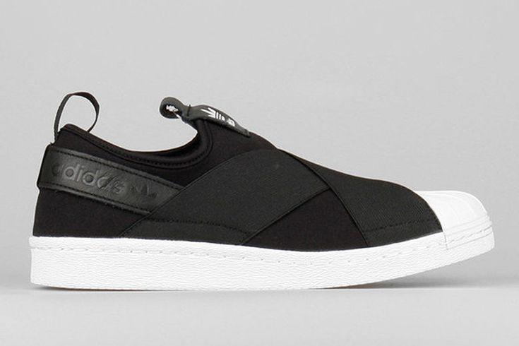 Bandaged Slip-On Sneakers - The Adidas Originals Superstar Slip-Ons Keep Feet Extra Secure (GALLERY)