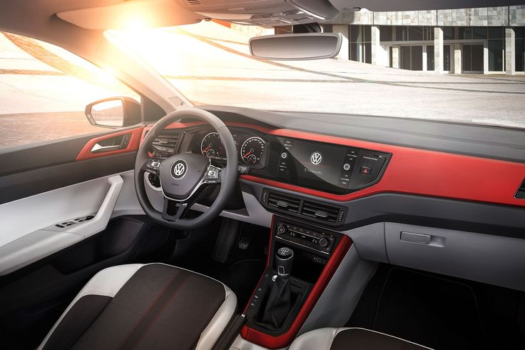 New VW Polo 2018MY Interior / Фольксваген Поло 2018