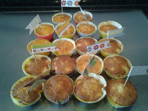 Apselsinen-Muffins