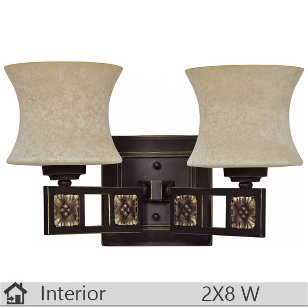Aplica iluminat decorativ interior Klausen, gama Ida, model AP2 http://www.etbm.ro/aplica-iluminat-decorativ-interior-klausen-gama-ida-model-ap2