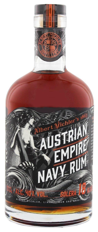 Albert Michler Austrian Empire Navy Rum Solera 18YO (1 x 0.72 l): Amazon.de: Lebensmittel & Getränke