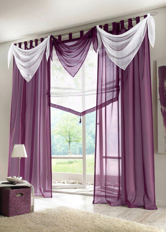 Cortinas Modernas Modelos De Cortinas Modernas Cortinas Para Cocina Cortinas Para Sala Cortinas Para Dormitori Curtain Decor Drapery Styles Curtain Designs