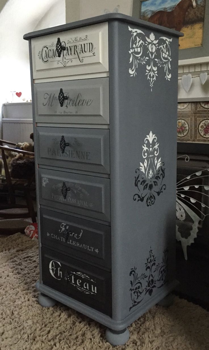 Another View Of The Tall Chest Of Drawers...