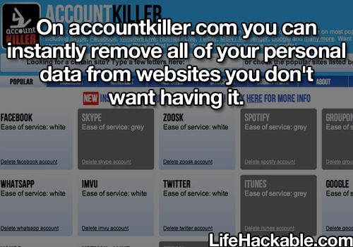 Accountkiller.com.  Remove all of your personal info from websites you don't want anymore.  Haven't tried but good resource to look into.