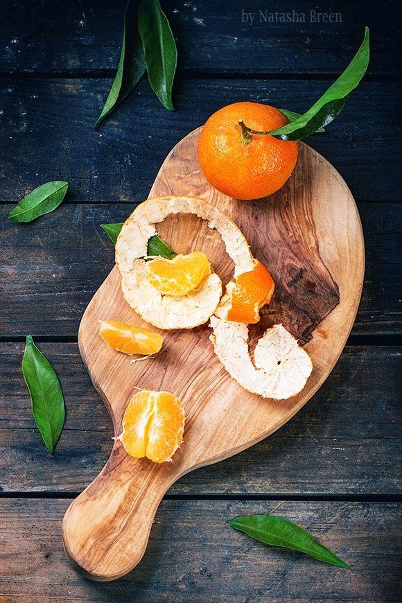 Tangerines on Cutting Board by Natasha Breen on 500px