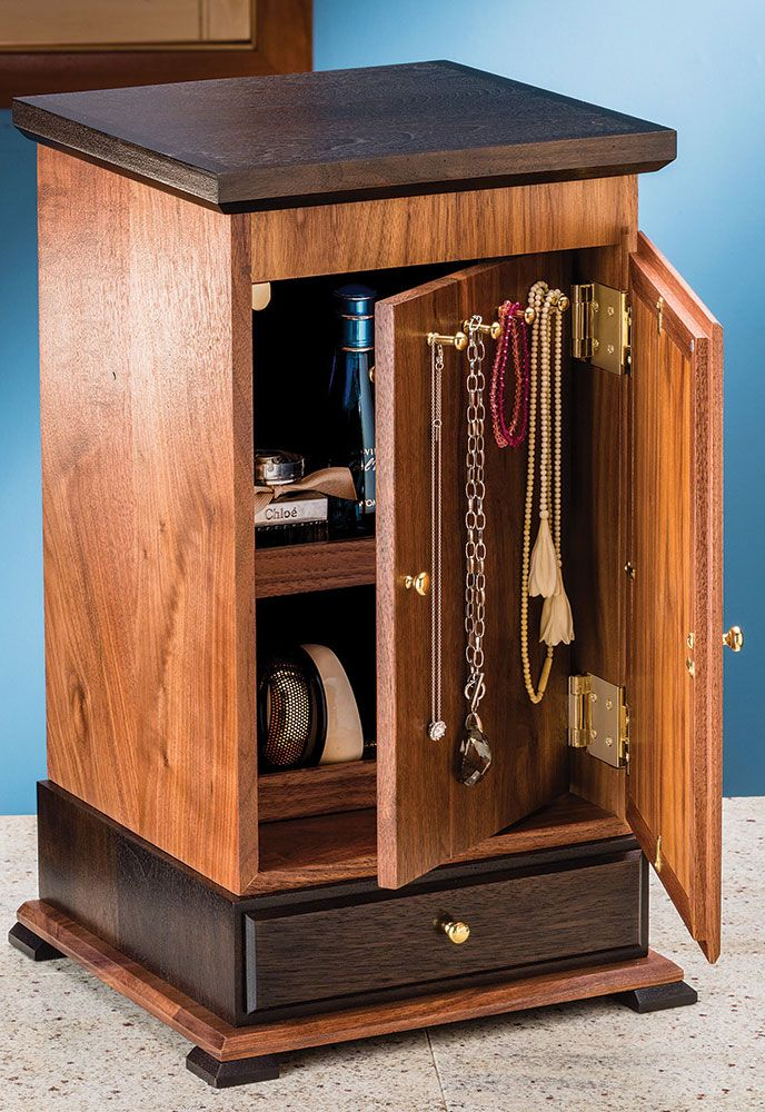 27 best jewelry box images on Pinterest Woodworking Jewel box and