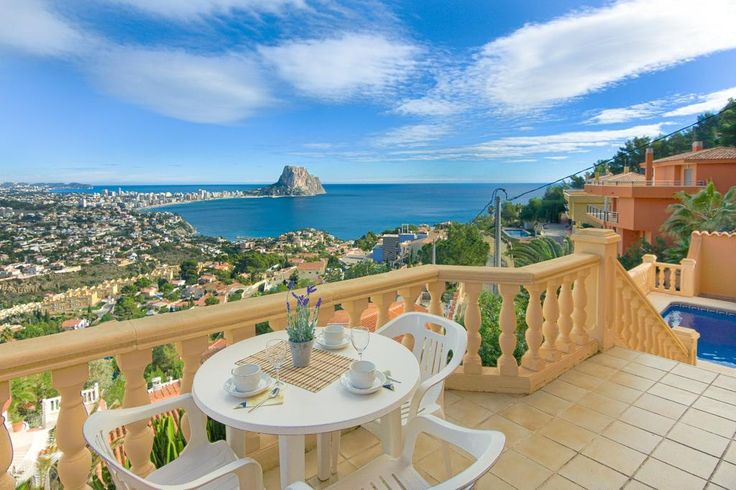 Holiday home Calpe Costa Blanca Villa Spain for rent Toulon