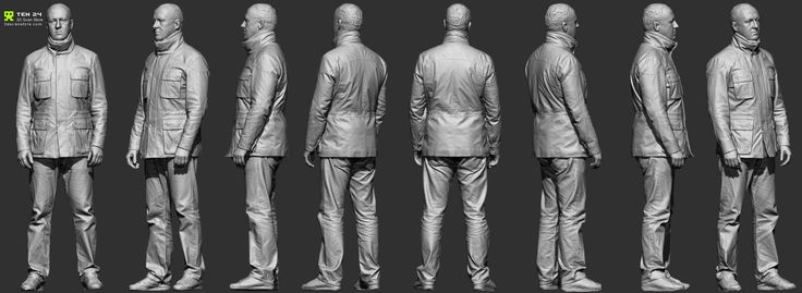 Reference Character Models