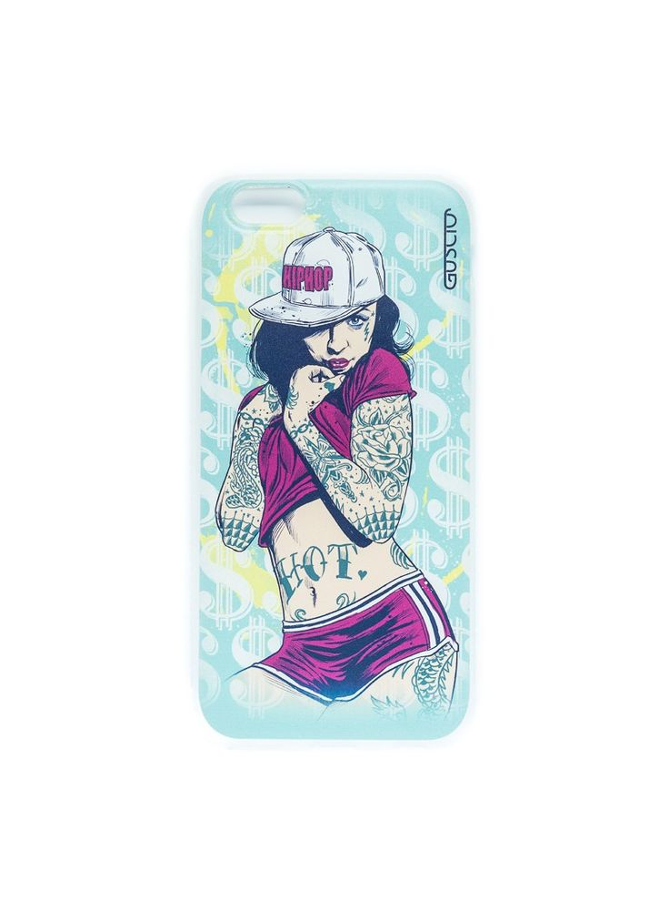 Guscio Handyhuelle - Apple iPhone6 - 60221 - HipHop PinUp