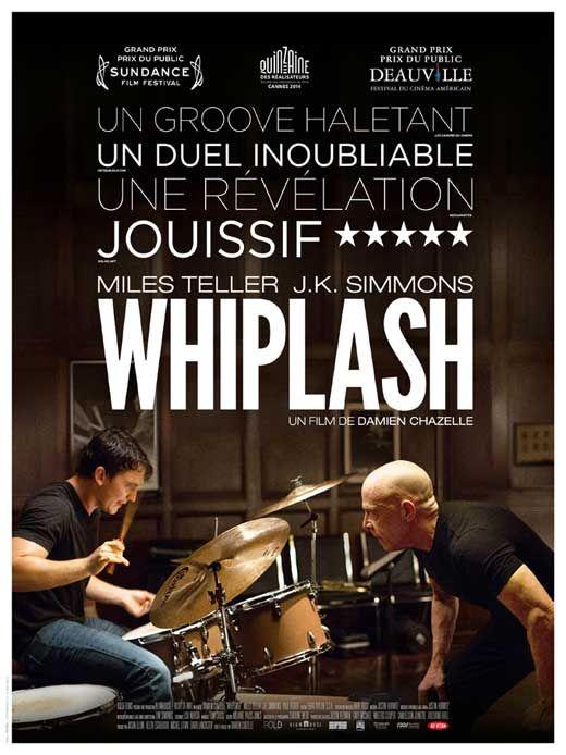 Whiplash (2014) un film à ne surtout pas rater:) une pépite rien que pour la BO et pour les morceaux de batterie jazzy. LE film de 2014??