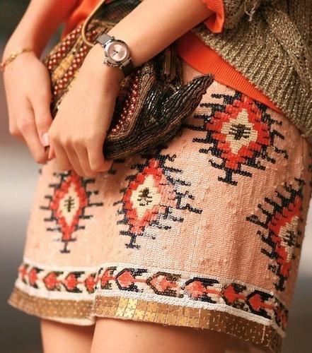 gorgeous aztec sequin mini!