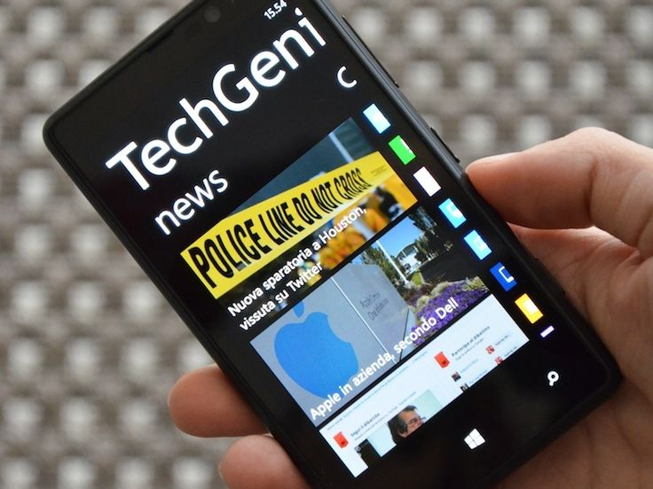 App ufficiale TechGenius per Windows Phone 8. Disponibile gratuitamente sul Windows Phone Store -> http://www.windowsphone.com/it-it/store/app/techgenius/cf10b936-8a8c-4cf4-9d89-491dbec3828a