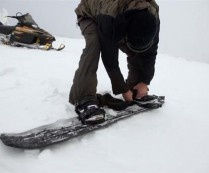 The World's 1st 3D printed snowboard