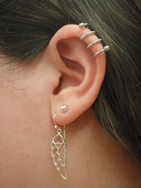 Ear Spiral Piercing By Penelope Haven Body Arts Piercing & Tattoo  HavenBodyArts.com  108 Main St FL2  Northampton, MA 01060