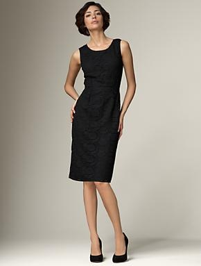 Faculty function with a cardigan?Perfect Black, Black Dresses, Talbots Lace, Lace Sheath, Academic Style, Style Pinboard, Love Lace, Gorgeous Lace, The Roller Coasters