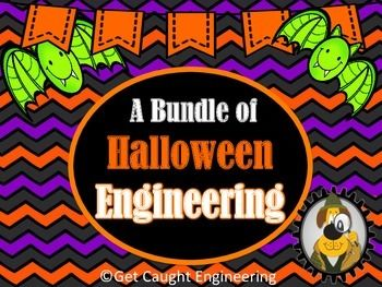 Engineering Halloween with STEM! We have bundled four engineering lessons that integrate simple machines, electrical circuits, and physical science with a Halloween theme.Engineering is a Scream  Haunted Houses   and ElectricityFlying Goblins  Aeronautical EngineeringPunkin Chuckin- Catapults, Levers, and ProjectilesBats that Zip  Gravity and AccelerationNOTE: Versions of these lessons are also available individually in our store.