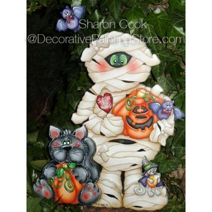 The Decorative Painting Store: I Miss My Mummy Pattern by Sharon Cook, Newly Added Painting Patterns / e-Patterns
