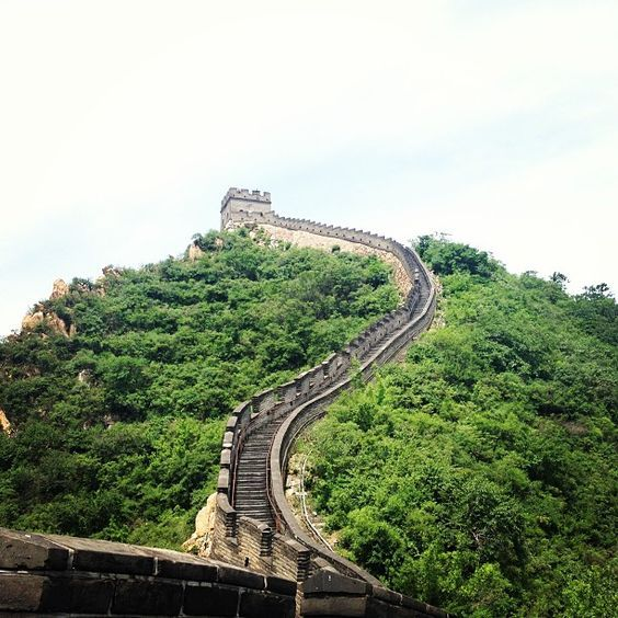 Great Wall of China, Juyongguan Pass. - Apparently it's less crowded here, but no less magnificent.