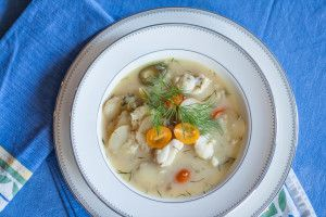 Monkfish Stew with Potatoes and Dill Posted on March 19, 2015 by Dirty Laundry Kitchen