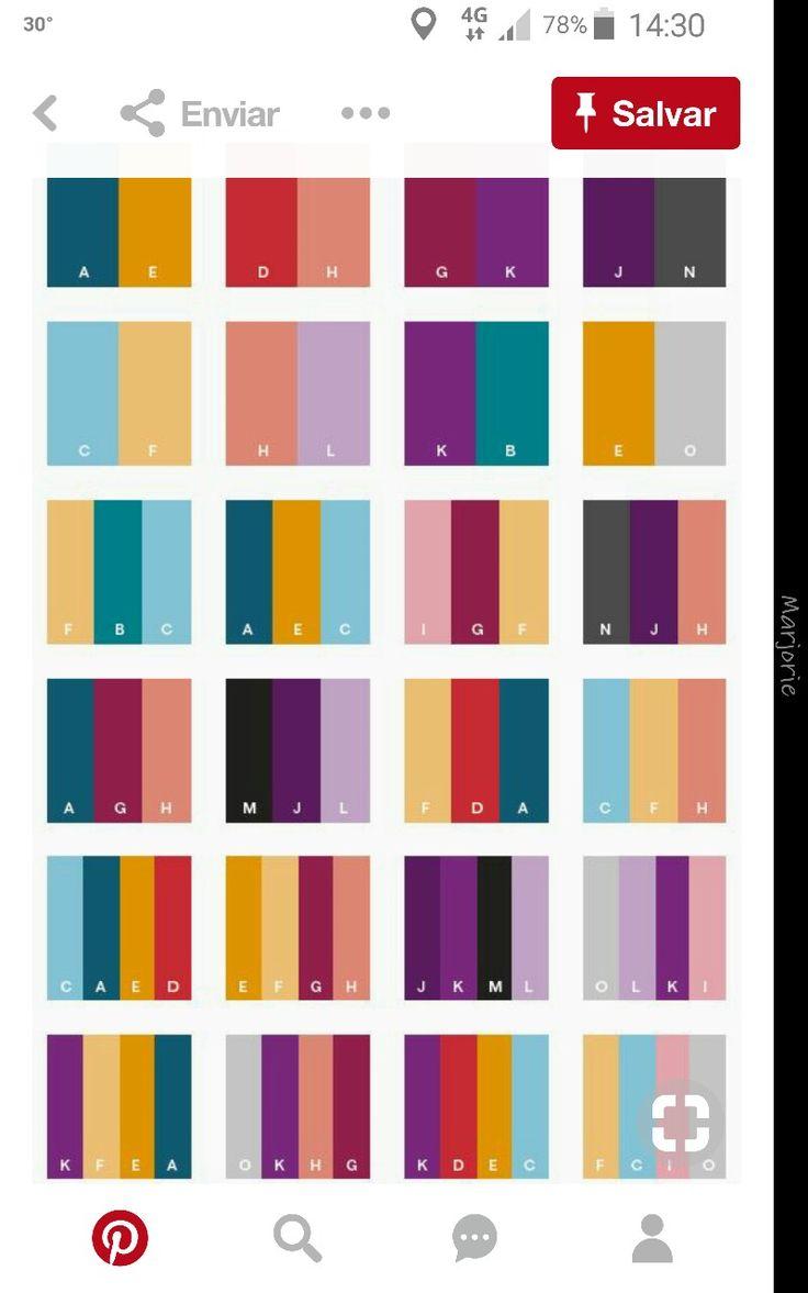 paleta de cores - 100pepinos