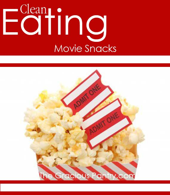 Healthy snack ideas for your next movie night!