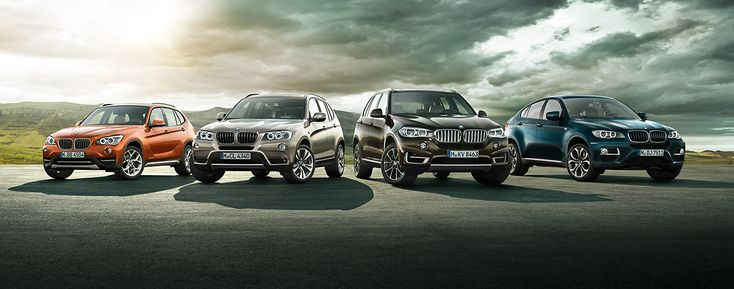 Who Are All The BMW SUVs For? - http://www.bmwblog.com/2015/05/28/who-are-all-the-bmw-suvs-for/