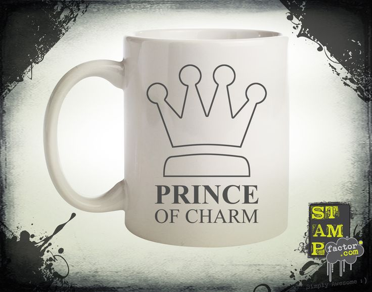 I Am The Prince (Davy's Grey) 2014 Collection - © stampfactor.com *MUG PREVIEW*