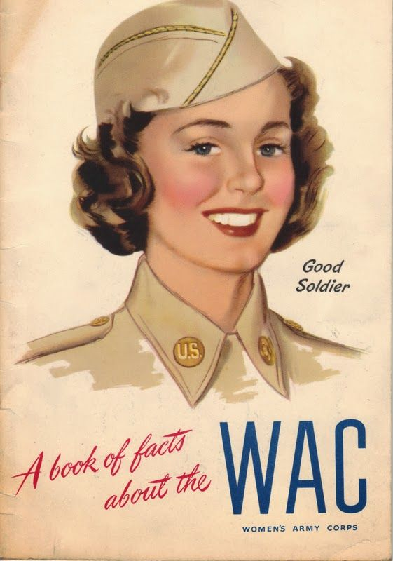 A Book of Facts About the WAC (Women's Army Corps Booklet 1944)