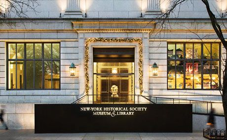 At @New-York Historical Society, the oldest museum in NYC, four centuries of history, heroes, legends, artifacts and art tell America's story from a local perspective. A massive collection, changing exhibits, talks and tours help visitors explore New York's fascinating past. (Fridays, pay-what-you-wish, 6–8pm)