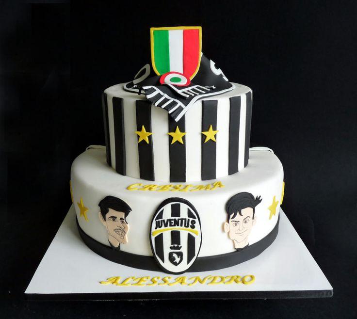 Juventus cake - Cake by Clara