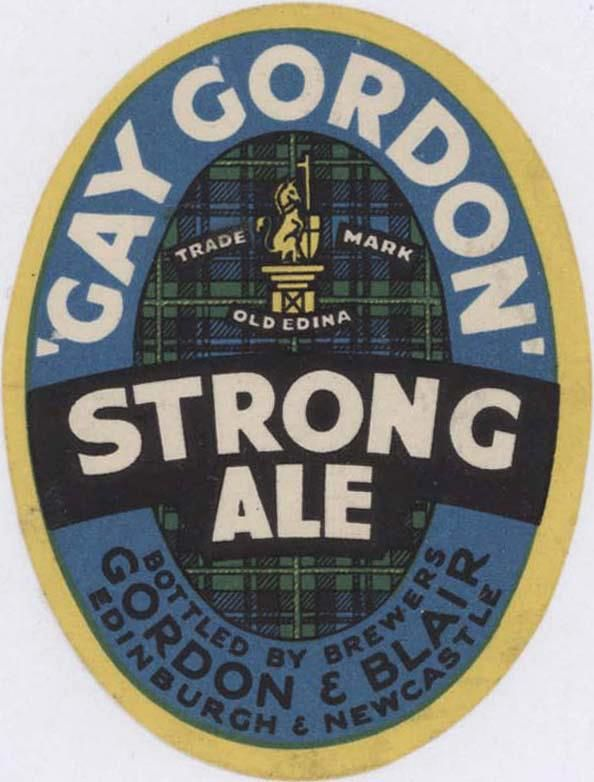 "Gordon & Blair of Edinburgh via https://www.facebook.com/ScottishBrewingArchive - the album ""Craigwell Brewery"" has labels from beers brewed on the site where Craigwell Cottage now stands."