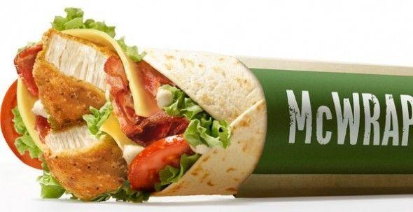 McWrap........McDonald's New 'McWrap' Plays On Public Perception Of Healthy Food