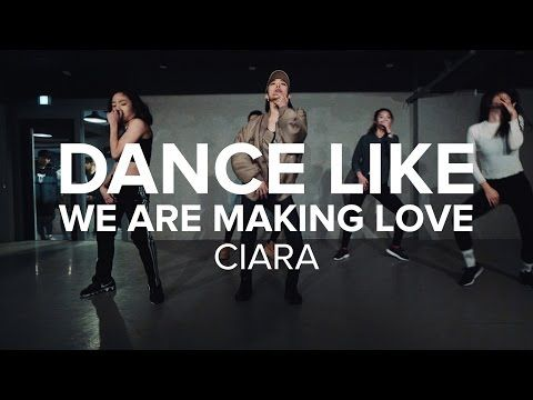 Lia Kim Choreography- Dance like we're making love by Ciara-  I always loved Ciara music bc of the dance aspect and this hits another great dance song with all the pauses and beats.