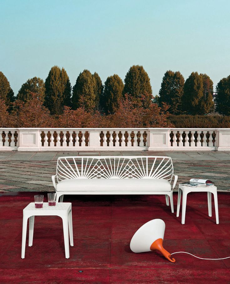 Top Ten: Ludovica and Roberto Palomba's most representative pieces: Sunrise Collection, Driade, 2011