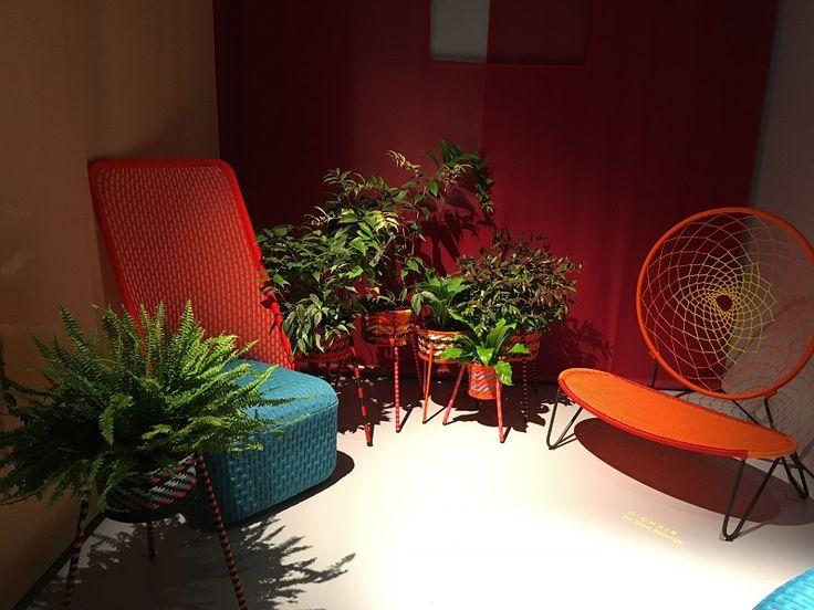 Moroso outdoor furniture    http://www.malfattistore.it/en/2016/04/malfattistore-milan-design-week-2016/ #malfattistore #interiordesign #shoponline #italianfurniture #homedecor
