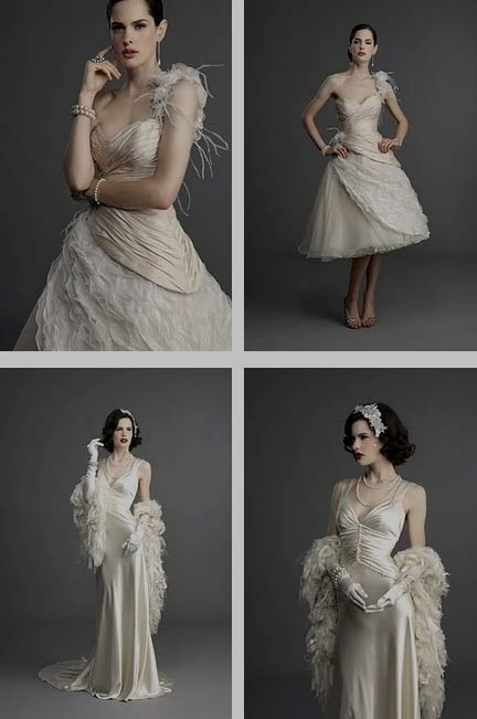 1930's wedding dressesDresses Wedding, Wedding Dressses, 50S Wedding Dresses, Dresses Tops, Wedding Ideas, Evening Gowns, 1930 S Dresses, Vintage Inspiration, 1930S Wedding Dresses