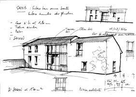 les 25 meilleures id es de la cat gorie croquis architecte sur pinterest art render croquis. Black Bedroom Furniture Sets. Home Design Ideas